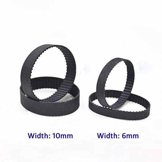 B86//B88//B90//B94//B92//B95 MXL Rubber Timing Belt Close Loop Belt 6//10mm Width