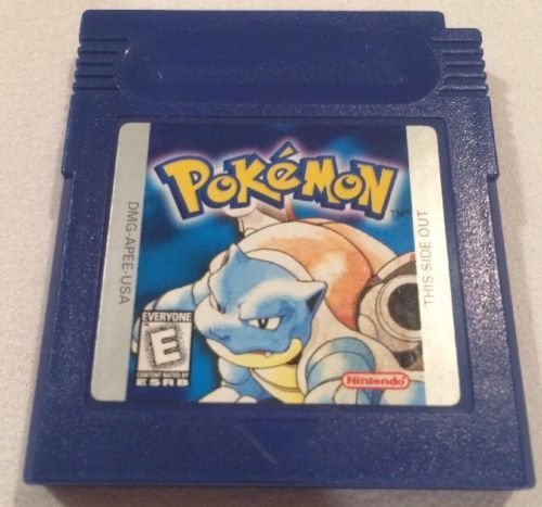Pokemon Blue Version Game [GameBoy] - NEW SAVE BATTERY SOLDERED IN (no tape) (Best Gameboy Classic Games)