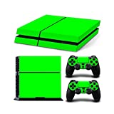 Gam3Gear Vinyl Sticker Pattern Decals Skin for PS4 Console & Controller- Green For Sale
