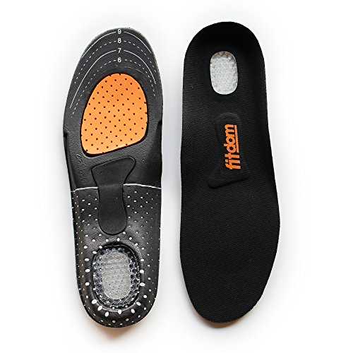 Premium Lightweight Sports Insoles For Women & Men. Best For Walking, Standing, Daily Wear & Work Shoes