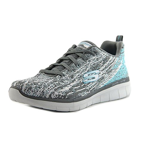 2 0 High Donna Spirits Grey Synergy Skechers Sneaker white aBPx15fq