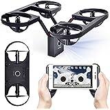 Hot Sales Memela(TM) TY6 Drone 720P HD Camera Foldable Pressure Altitude Hold G-sensor Headless Mode 2.4G 4CH 6 Axis Quadcopter (Black)
