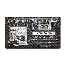 El Caballito Colorante para Ropa, Sobre el color Negro Jeans, 20 g