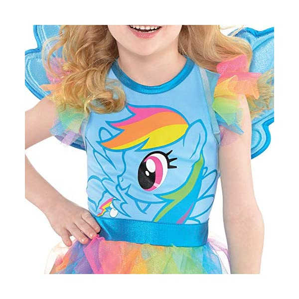 Suit Yourself Rainbow Dash Halloween Costume, My Little Pony, Small, Includes Dress, Headband, Wings, and Tail 5