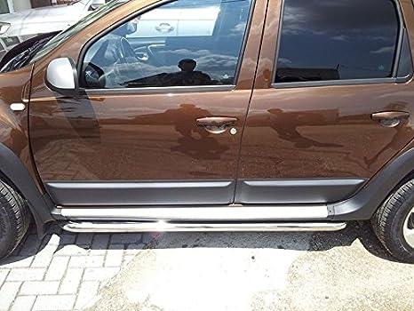 Dacia 4 X Seitenplanken Schutzleisten Für Tür Türen Schwarz Neu Auto