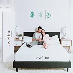 Take a deep breath and exhale because you've found your pathway to that perfect sleep with the Aveline 8 inch pressure relief queen memory foam mattress. Topped with gel-infused memory foam to keep your body climate steady, this firm queen ma...