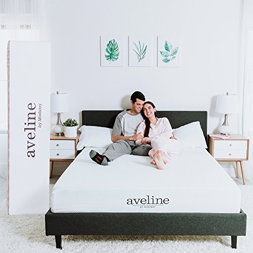 Modway Aveline 10' Gel Infused Memory Foam Queen Mattress With CertiPUR-US Certified Foam - 10-Year Warranty - Available In Multiple Sizes
