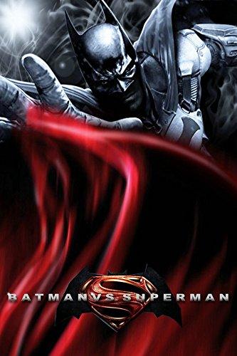 Amazon.com: Fit You Batman Vs Superman Canvas Wall Poster ...
