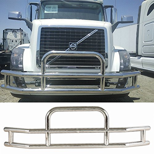 - Haitzu Deer Guard Grill Guard for Volvo VNL 2004-2017 Made of Heavy Duty Steel Grille Bumper 2005 2006 2007 2008 2009 2010 2011 2012 2013 2014 2015 2016