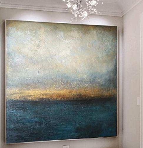 Amazon Com Seascape Abstract Decor Painting Large Abstract Ocean