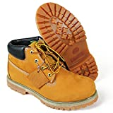 LABO Men's Genuine Leather Work Boot1051TAN-8