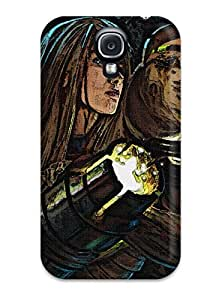 CaseyKBrown Galaxy S4 Hybrid Tpu Case Cover Silicon Bumper Battleweary Samus