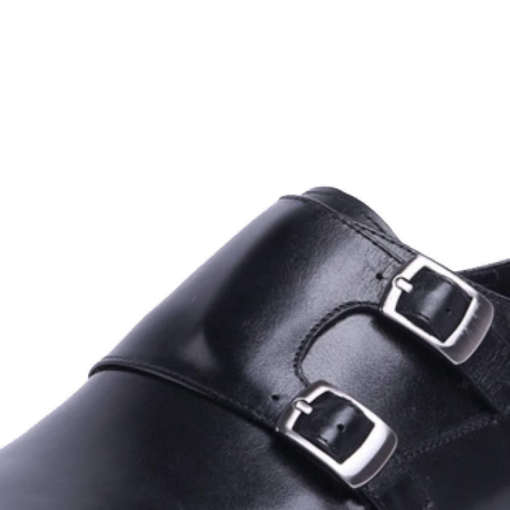 ZQZQ Geschäft, Formelle Kleidung, Tragbar, Rutschfest, Mode, Männer schwarz schwarz schwarz 758495