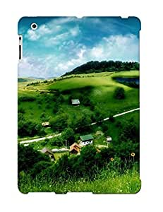 SmqUzcK3415ltBrx Tough Ipad 2/3/4 Case Cover/ Case For Ipad 2/3/4(boy Sitting On The Hill ) / New Year's Day's Gift