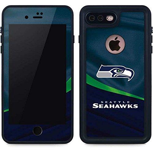 on sale 73ee1 71a2e Amazon.com: Skinit Seattle Seahawks iPhone 8 Plus Waterproof Case ...