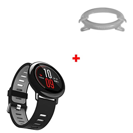 Amazon.com: Cywulin Silicone Sports Band for Xiaomi Huami ...