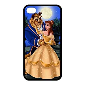 Custom Beauty And Beast Back Cover Case for iphone 5c JN5c-788