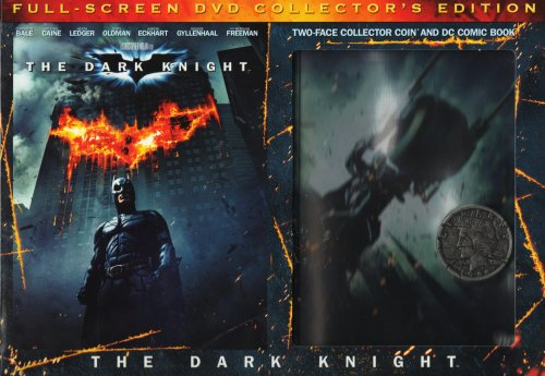 Batman Begins Replicas - The Dark Knight: Collector's Edition (With 2-in-1 DC Comic Book and Two-Face Replica Collector Coin) (Full Screen)
