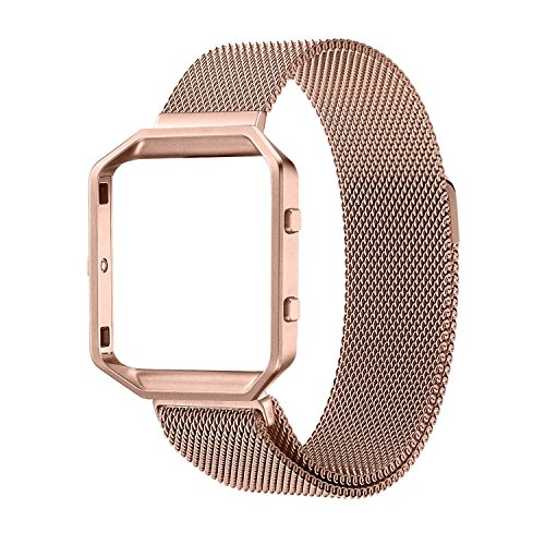 Fitness Housing Milanese Stainless Bracelet