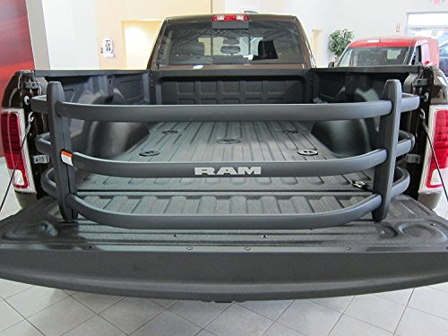 Dodge Ram Black Aluminum Tailgate Bed Extender Mopar OEM by - Dodge Parts Truck Mopar