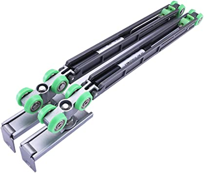 symboat Amortiguador de puerta corredera con tornillo Amortiguador de rueda de aleación para armario guardarropa: Amazon.es: Bricolaje y herramientas