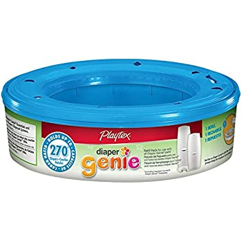 Diaper Genie Refills, holds up to 270 diapers,pack of 3