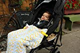 Luxury Organic Stroller Blanket – Includes Free Multi-Use Clips Review