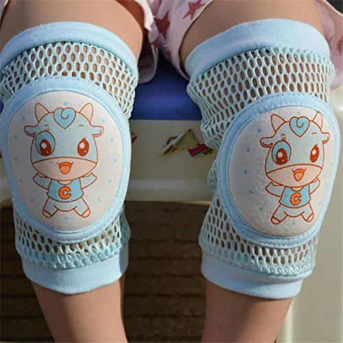 Gluckliy Infant Toddler Baby Knee Pad Crawling Safety Protector Leg Warmers