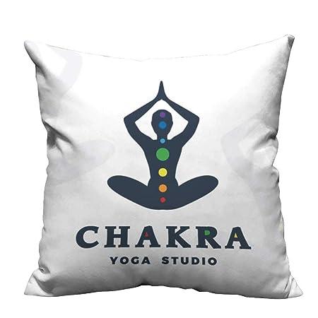 YouXianHome - Funda de Almohada para Yoga, diseño de Mancuernas ...