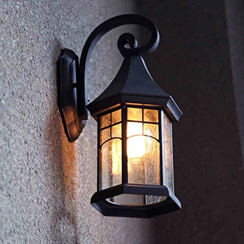Black Wrought Iron Outdoor Lighting in Florida - 7