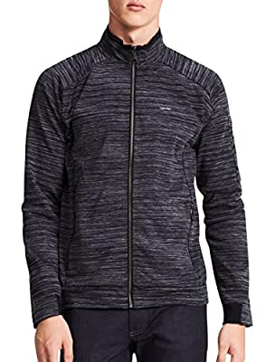 Calvin Klein Big and Tall Sport Textured Full-Zip Jacket
