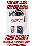 SNES / NES Classic SUPER KIT 7500+ Games Hack Mod