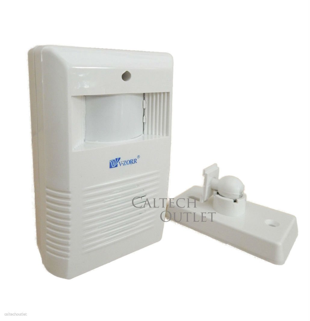 Wireless Motion Sensor Detector Door Gate Entry Bell Welcome Chime Alert Alarm