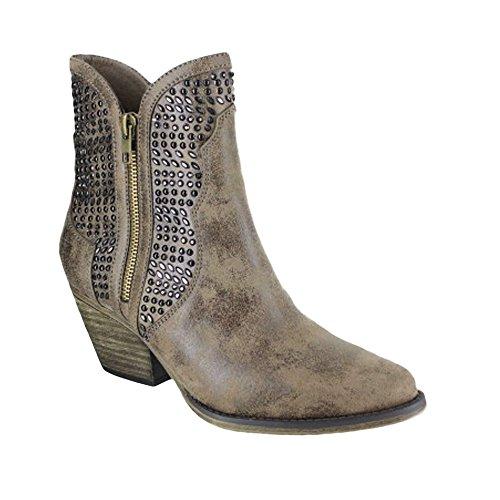 Mia Womens Austin Boots Mushroom