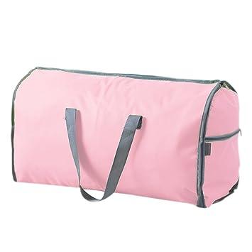 ee2d797602 スーツカバー 持ち運び ガーメントバッグ 衣装カバー 吊り下げ可能 かばんに折りたため スーツバッグ お洒落