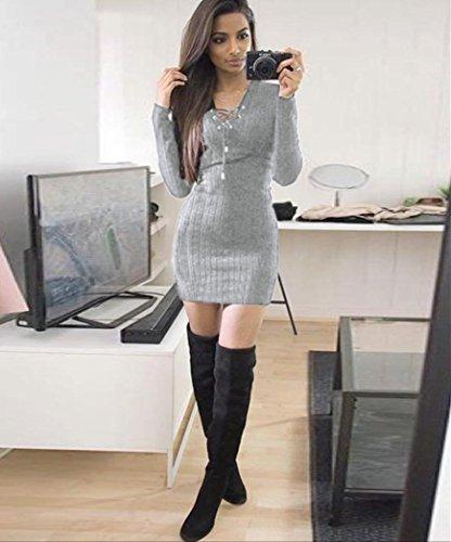 174210590 LILICAT Vestido de Punto de Mujer