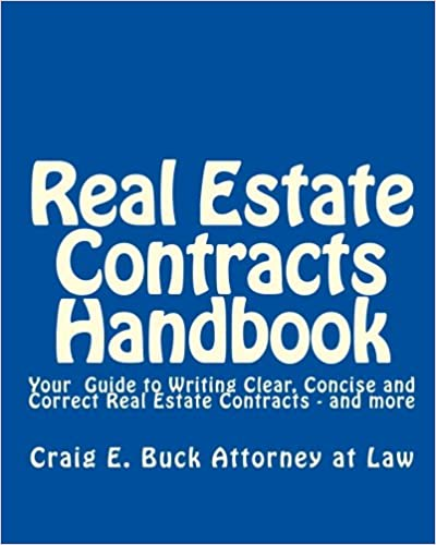 Amazon com: Real Estate Contracts Handbook: Your Guide to Writing