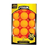 Stiga One-Star Table Tennis Ball, 38-Pack