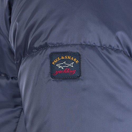 Jacket Navy amp; Down Paul Shark Hooded 7IwxTq