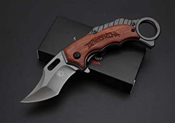 REGULUS KNIFE Cuchillo plegable Silver Fox X62: Amazon.es ...