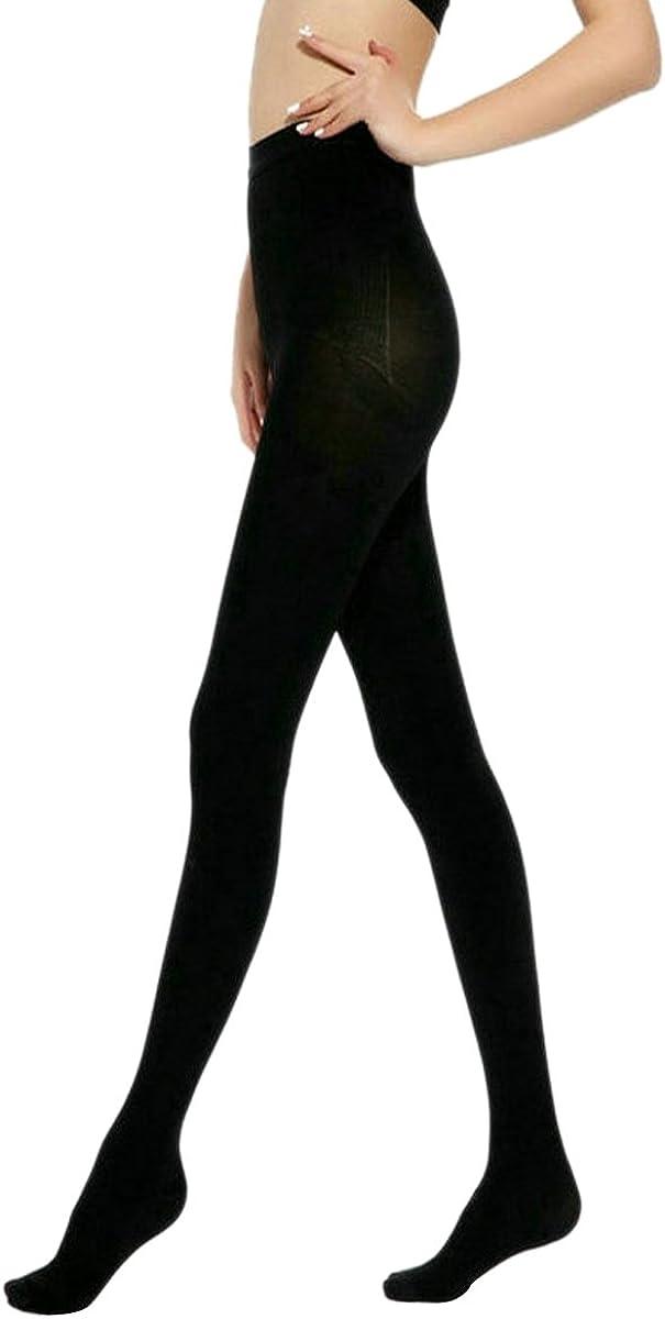 Aivtalk Collant Gainant Sculptant Femme Noir//Beige /Élastique Leggings Long Collant Jambe pour Printemps Automne Opaque Taille Haute