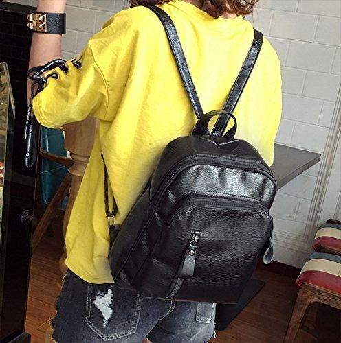 Dairyshop Sacchetti da zaino da scuola dello zaino di spalla di viaggio del cuoio del faux di modo delle donne delle ragazze