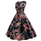 GAOLIM Spring And Autumn Women'S Dresses With Large Pendulum Dresses And Sleeveless Dresses,Black,L