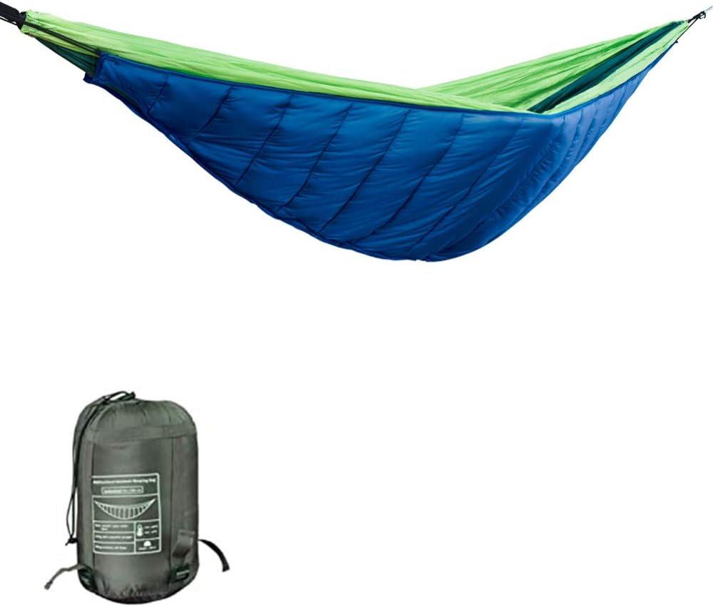无 Hamaca para Acampar en Invierno Hamaca Caliente Engrosada al Aire Libre Mochilas Saco de Dormir de Invierno Aislamiento de Ocio Hamaca de algodón: Amazon.es: Jardín