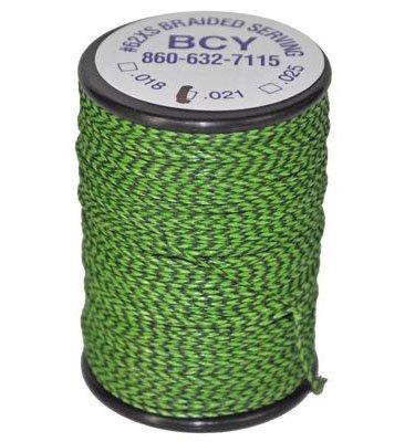 (Bohning Serving Thread NO 62 Braid (.021) Green #20022 )