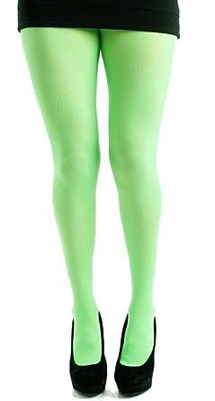 Pamela Mann - Collant vert fluo - Taille unique  Amazon.fr ... 535283a239c