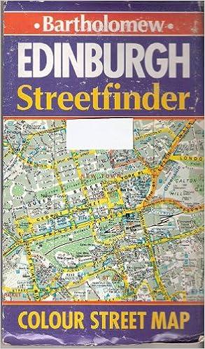 Edinburgh Streetfinder Col St Map