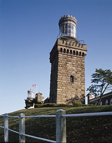 (Highlands, NJ Photo - The Navesink Twin Lights is situated 200 feet above sea level in Highlands, NJ - Carol Highsmith)