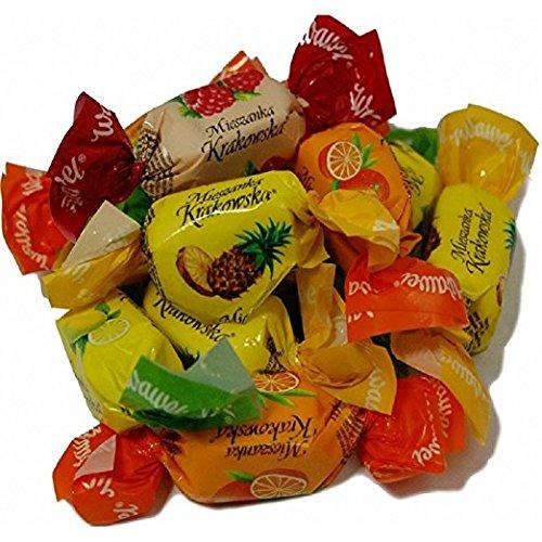 Mieszanka (Mieszkanka) Krakowska / Wawel Chocolate Covered Jelly Candy 1Lb (16oz) ()
