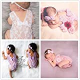 Newborn Infant Baby Photography Props Girls Lace